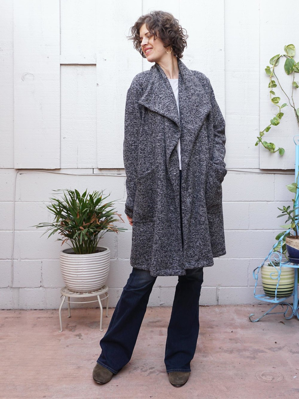 DIY Boucle Coatigan – Review of the Jill Coat by Seamwork | Sew DIY