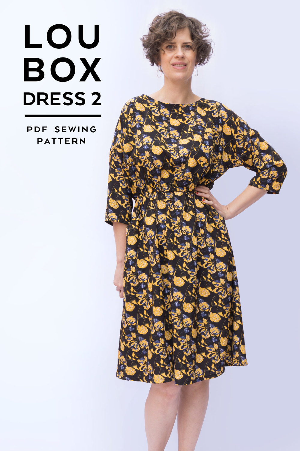 Introducing the Lou Box Dress 2 | Sew DIY