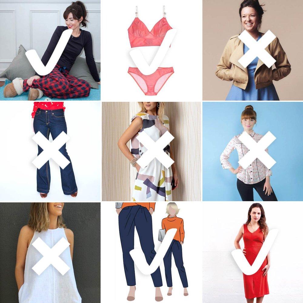 2017 Make Nine Checklist | Sew DIY