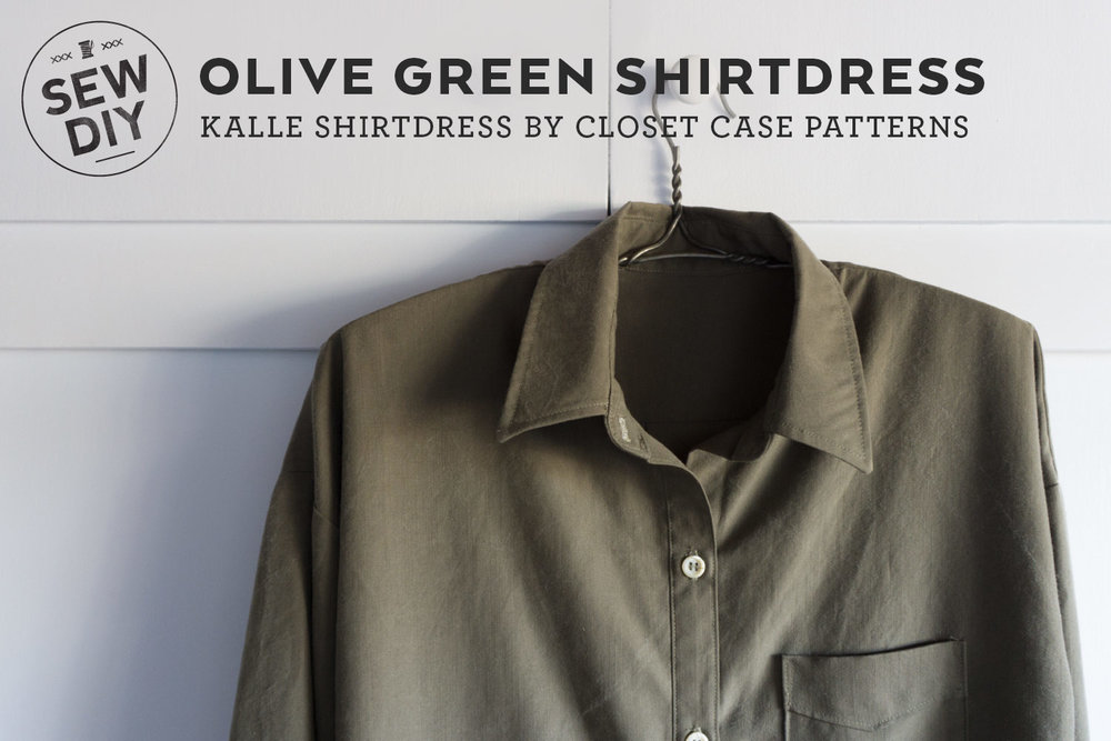 DIY Shirtdress – Review of the Kalle Shirtdress by Closet Case Patterns | Sew DIY