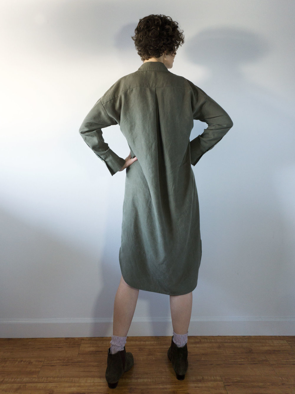 DIY Shirtdress – Review of the Kalle Shirtdress by Closet Case Patterns | Sew DIY