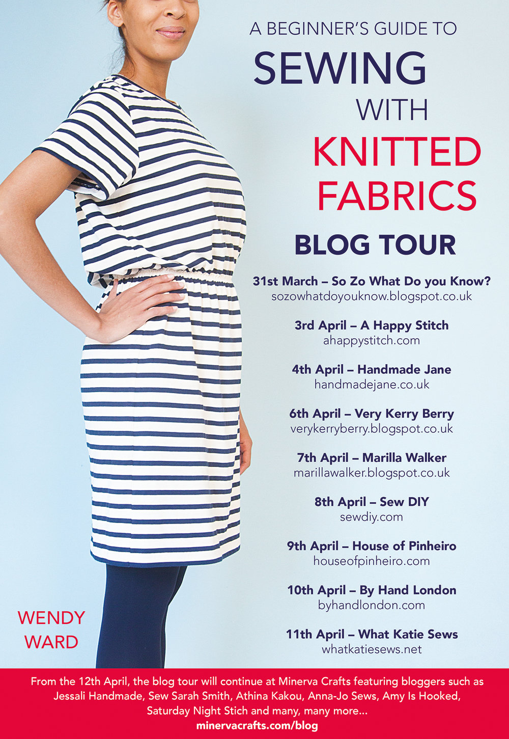Blog Tour – A Beginner's Guide to Sewing with Knitted Fabrics | Sew DIY