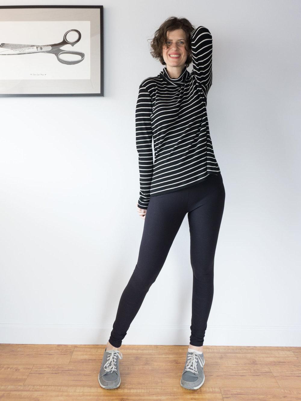DIY Striped Turtleneck – Seamwork Neenah Pattern | Sew DIY