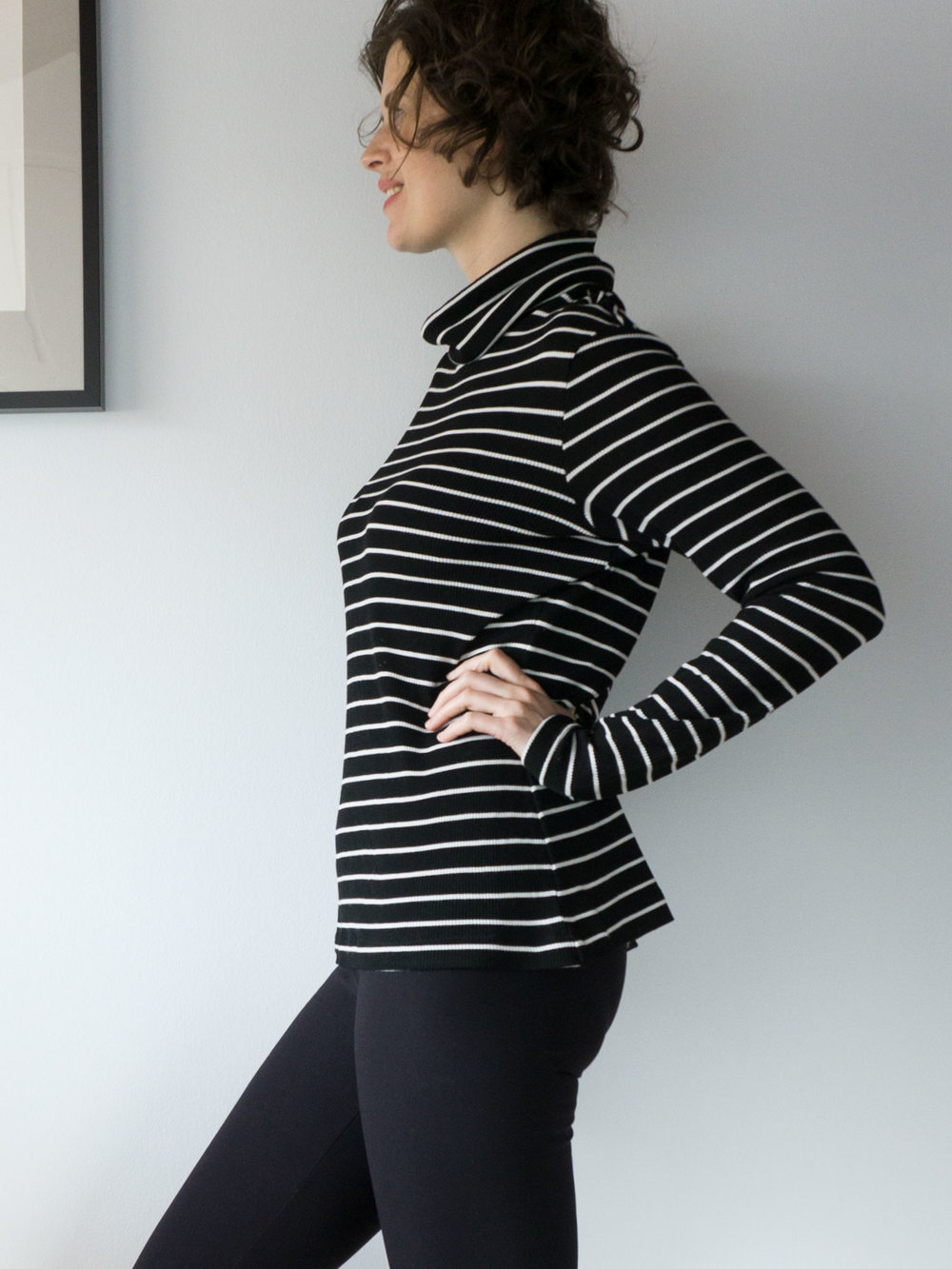 DIY Striped Turtleneck – Seamwork Neenah Pattern | Sew DIY