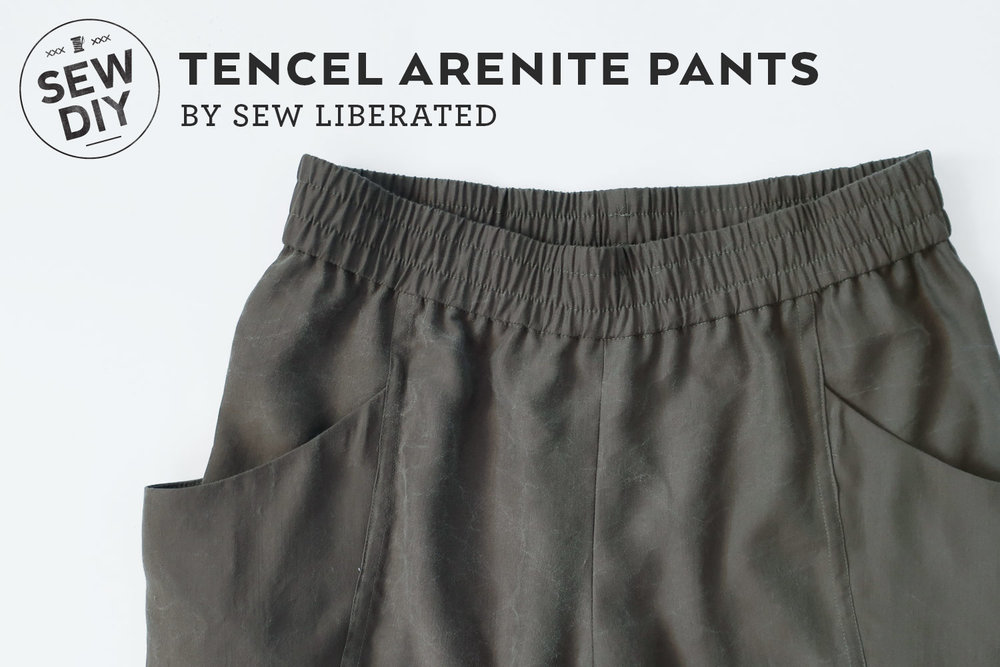 Review of the Arenite Pants sewing pattern by Sew Liberated | Sew DIY