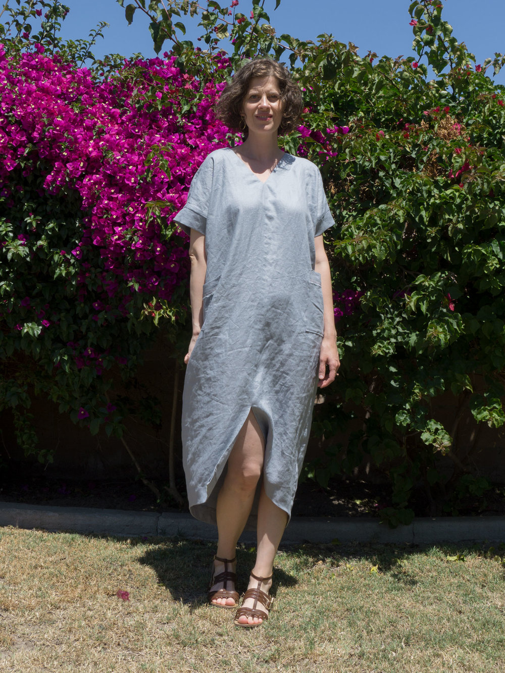 Lou Box Dress 1 Caftan Hack | Sew DIY