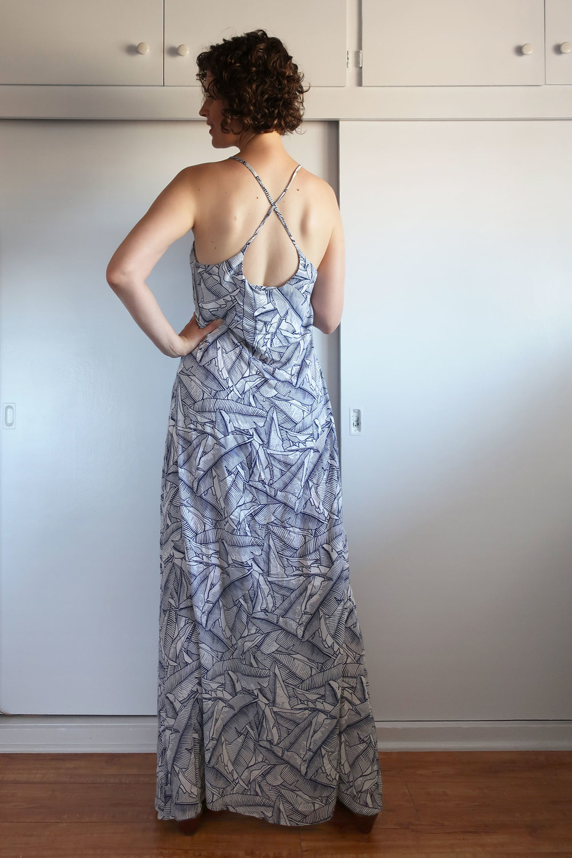 DIY X-back Slip Dress | Sew DIY