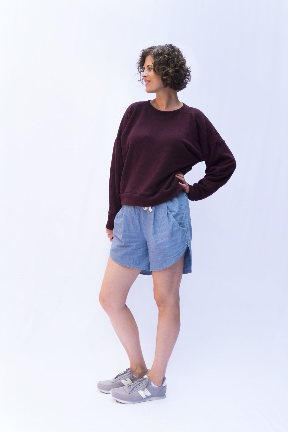 Ali Sweatshirt View A | Sew DIY