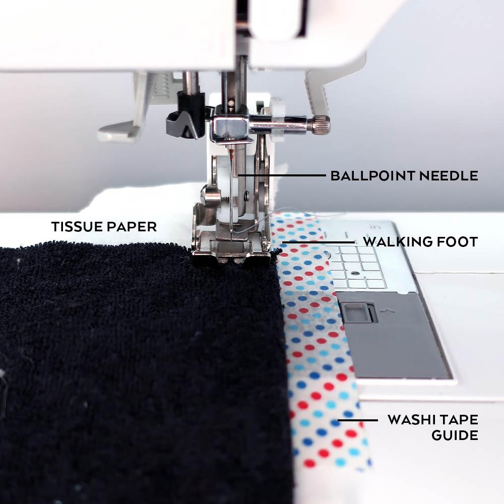 Ali Sweatshirt Sewalong Day 4 - Yoke and Sleeves, Machine setup | Sew DIY