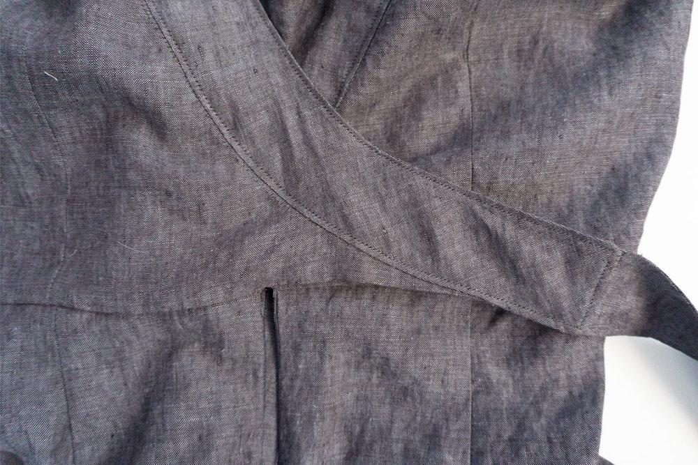 V-neck Linen Jumpsuit –Review of McCalls M7788 | Sew DIY