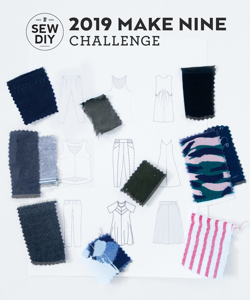 2019 Make Nine Challenge | Sew DIY