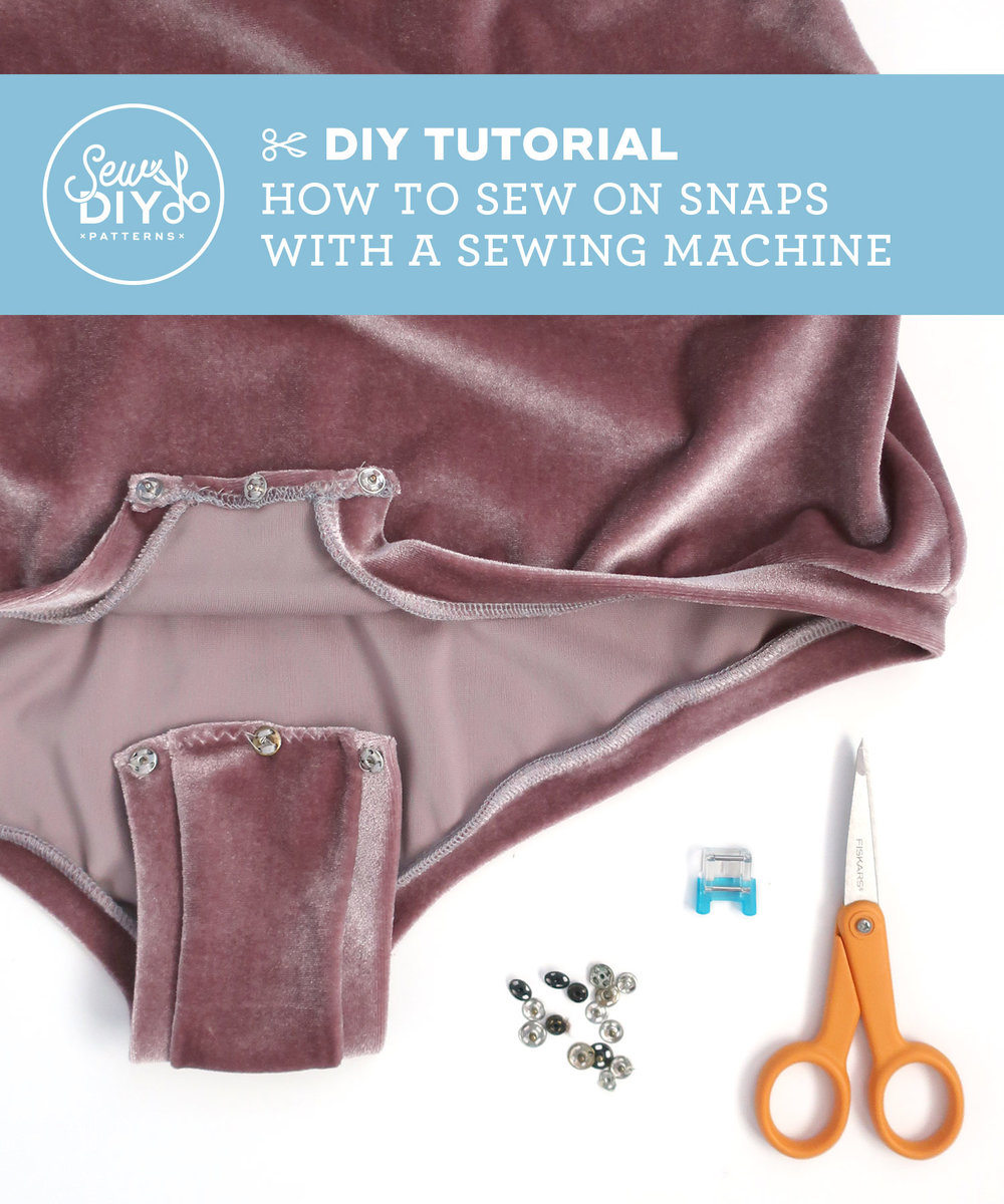How To Sew On Snaps By Machine – Video Tutorial | Sew DIY