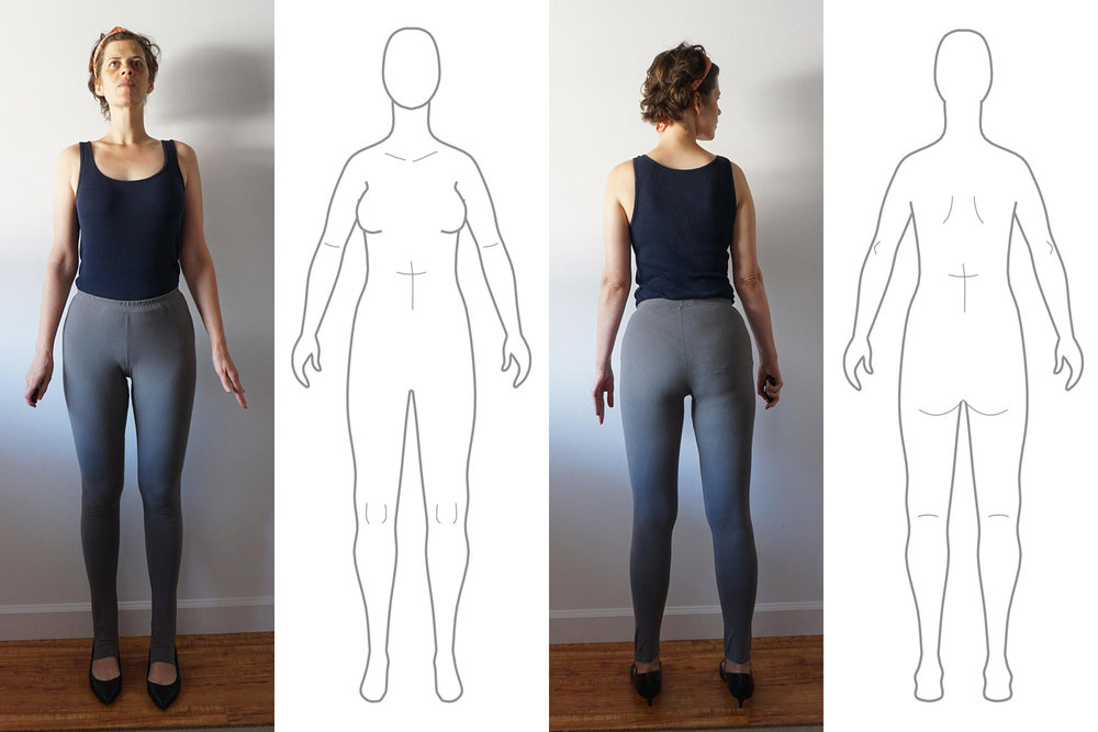My Body Model Photo and Croquis Comparison