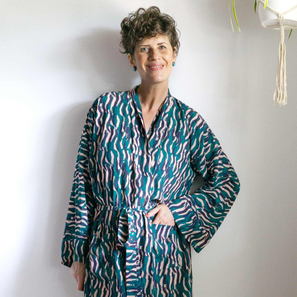 Tasi Robe and Jacket - A Draft-it-Yourself PDF Pattern