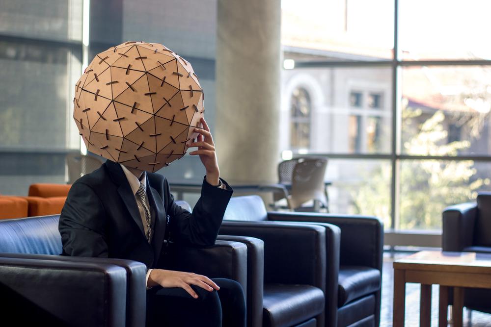 Sensory Deprivation Helmet -
