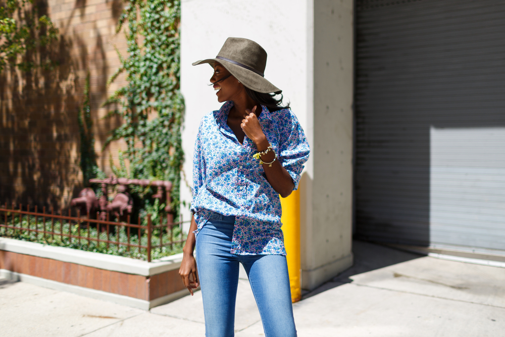 Afua Rida Styled By Rida Ghana Fashion Blogger African Blogger Polo Boyfriend shirt Louboutin top Shop Zara Hat Chicago Downtown Infrusture  Fashion Stylist African Blogger 3.jpg