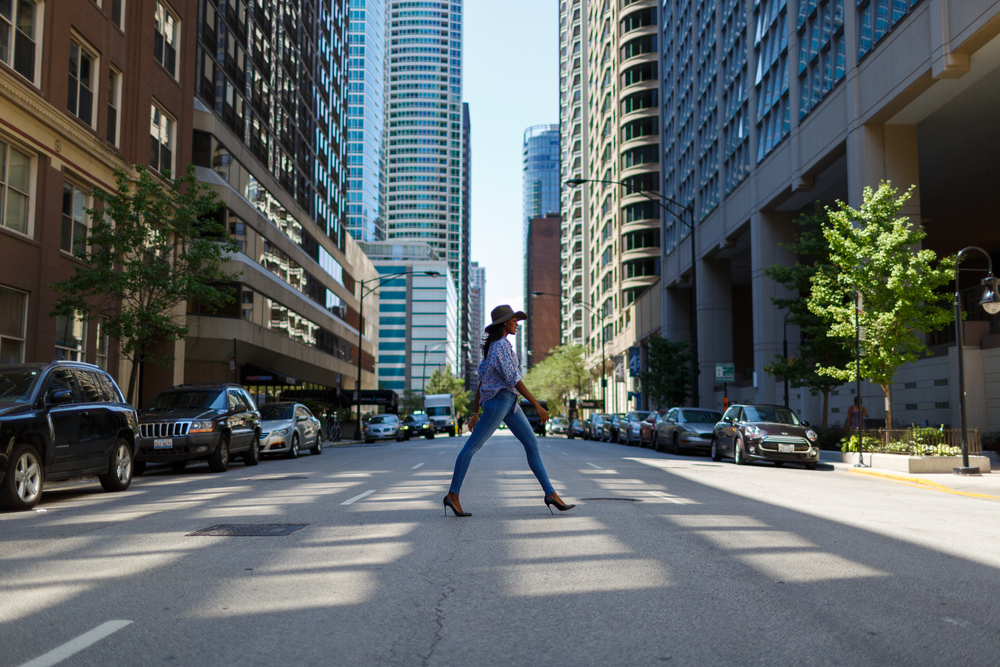 Afua Rida Styled By Rida Ghana Fashion Blogger African Blogger Polo Boyfriend shirt Louboutin top Shop Zara Hat Chicago Downtown Infrusture  Fashion Stylist African Blogger 7.jpg