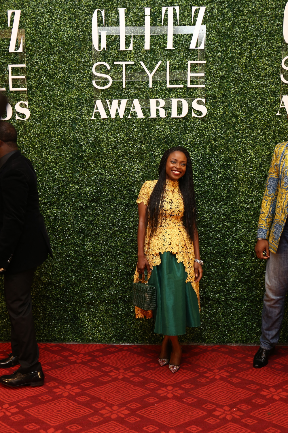 Aisha Ayensu in her brand Christie Brown