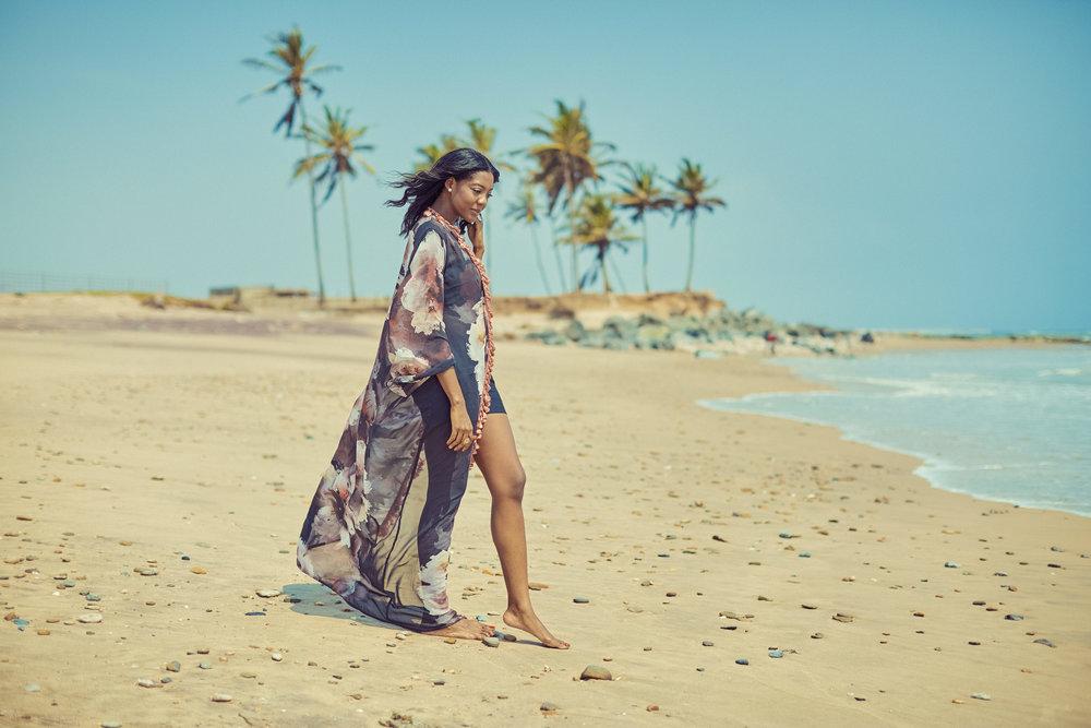 Fabric From Keky3 Fabrics | Kimono by Elom Fiagbe