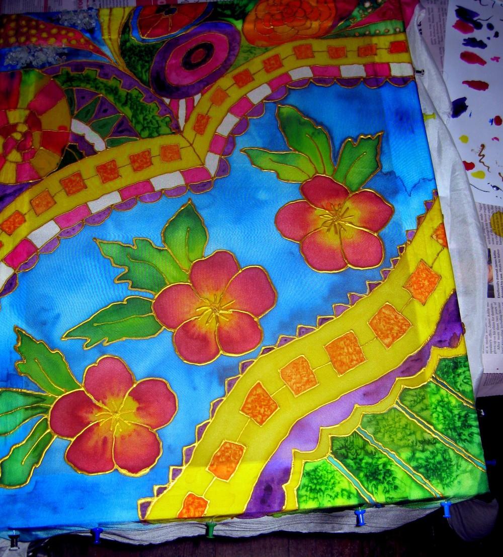 Silk Painting Classes Robyn Jackson Artist