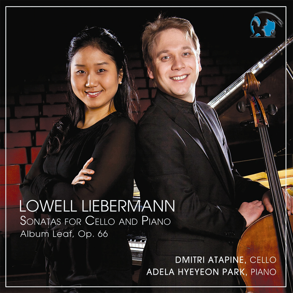 CD Cover: Liebermann Cello Sonatas