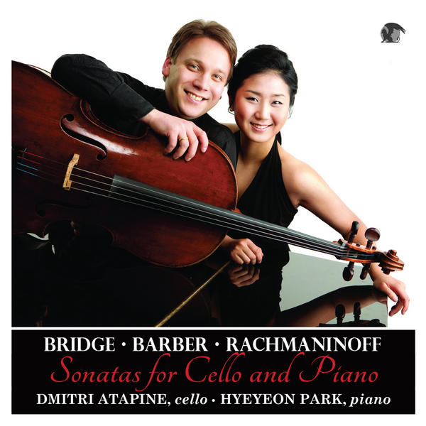 CD Cover: Bridge Barber Rachmaninoff Sonatas for Cello and Piano
