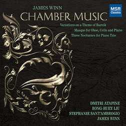CD Cover: James Winn Chamber Music