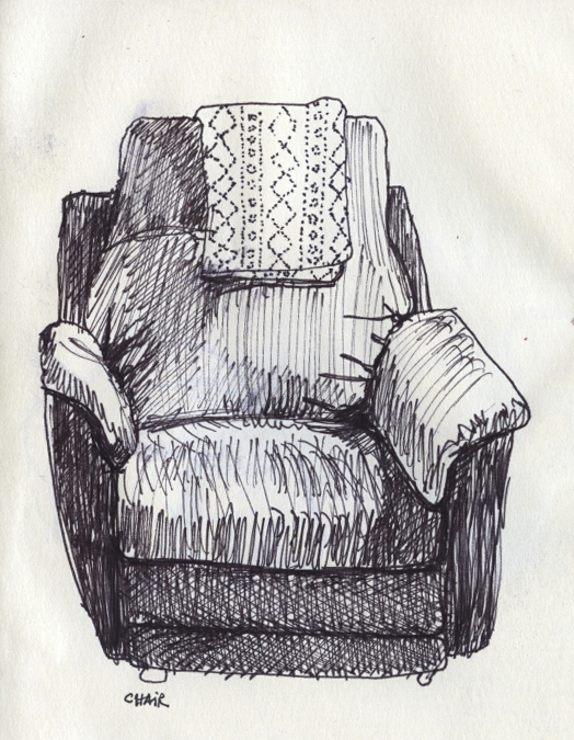 "© 2014   Ava Decapri,    ""Chair"""