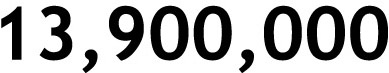 13,900,000