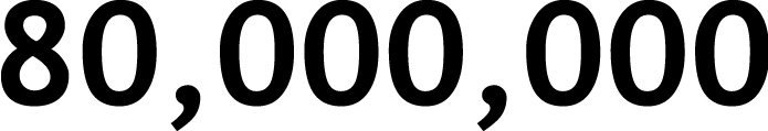 80,000,000
