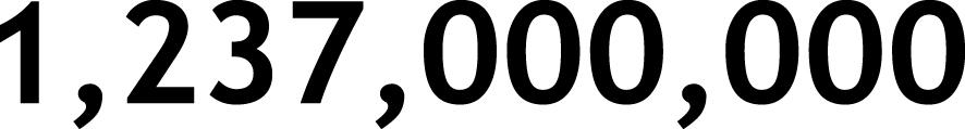 1,237,000,000