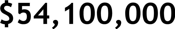 $54,100,000