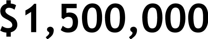 $1,500,000
