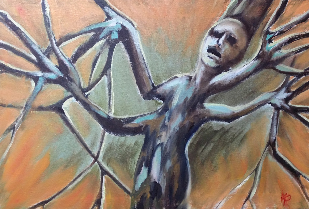 "© 2014 Kate Paul, ""Tree of Pain"""