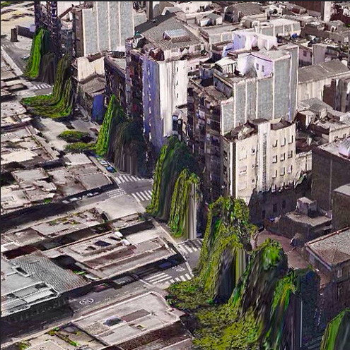 From Swedish developer  Peder Norby 's Flickr documenting   glitches in iOs Maps