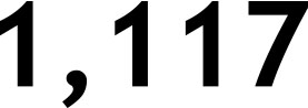 1,117