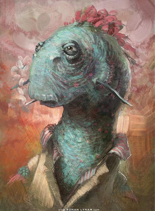 "© 2015Ronan Lynam, ""Eel"""