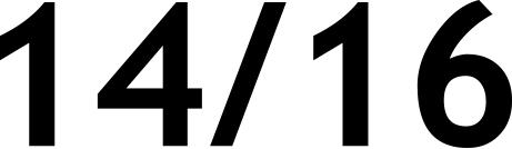 14/16