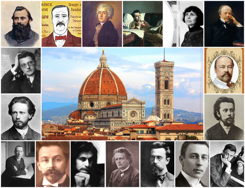 Russian - Italian Musical Connections -