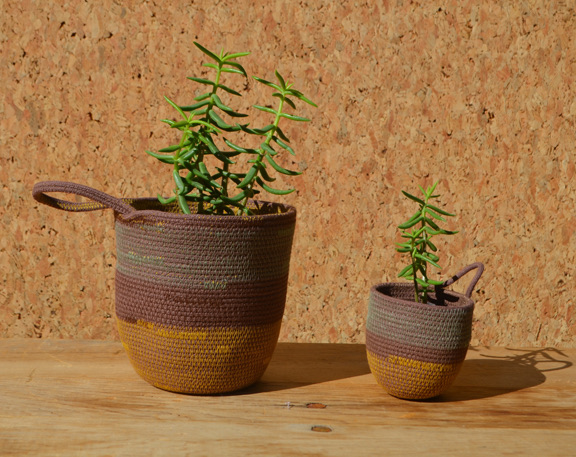 planter       - place a planter on the windowsill or hangone against wall using the handy loopmini     1 x 3    $12small     3 x 5    $16medium natural / brown / black+white / rainbow