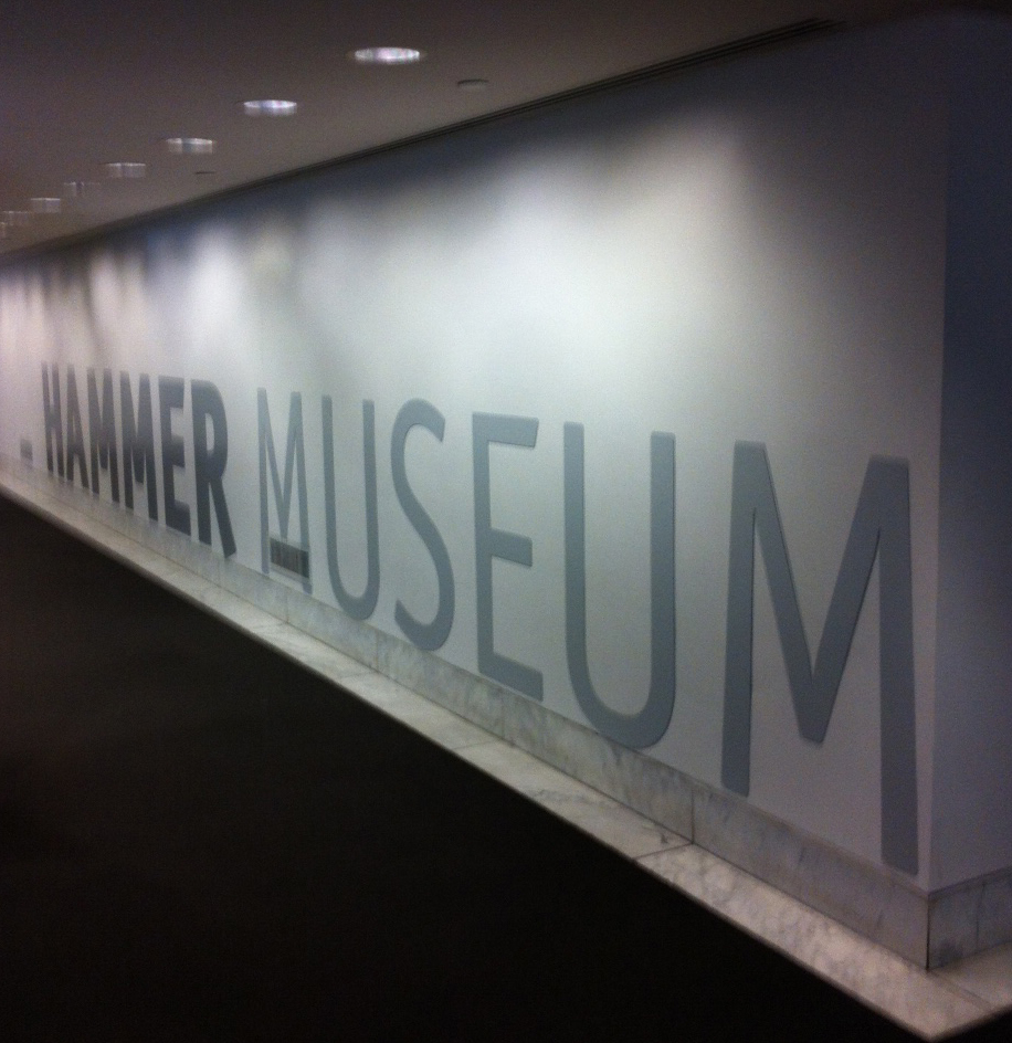 Thank  hammer museum.so wonderful space,art and selections :):):)