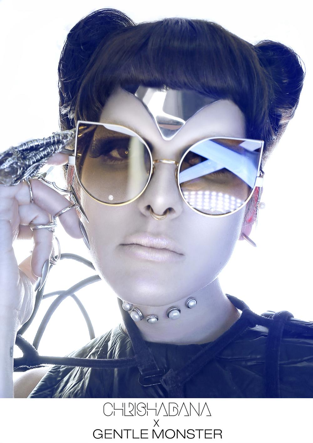 d6b40a0763 The Chola Sunglasses - Gold — CHRISHABANA