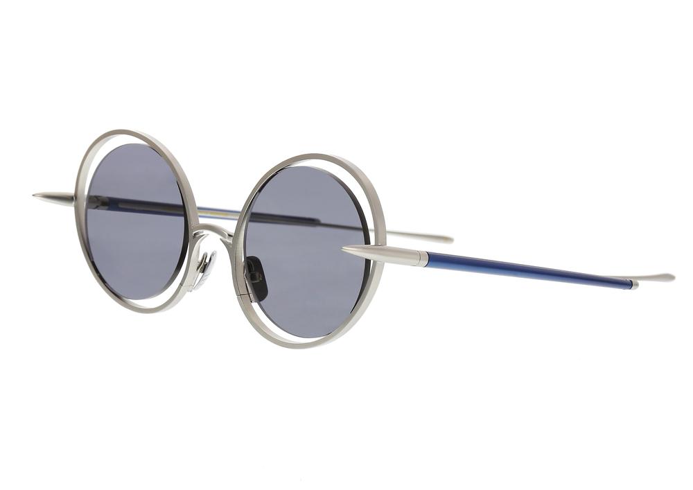 30f600007b82 The Hunt Sunglasses - Silver Blue — CHRISHABANA