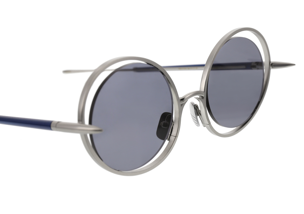 30f600007b82 The Hunt Sunglasses - Silver Blue — CHRISHABANA