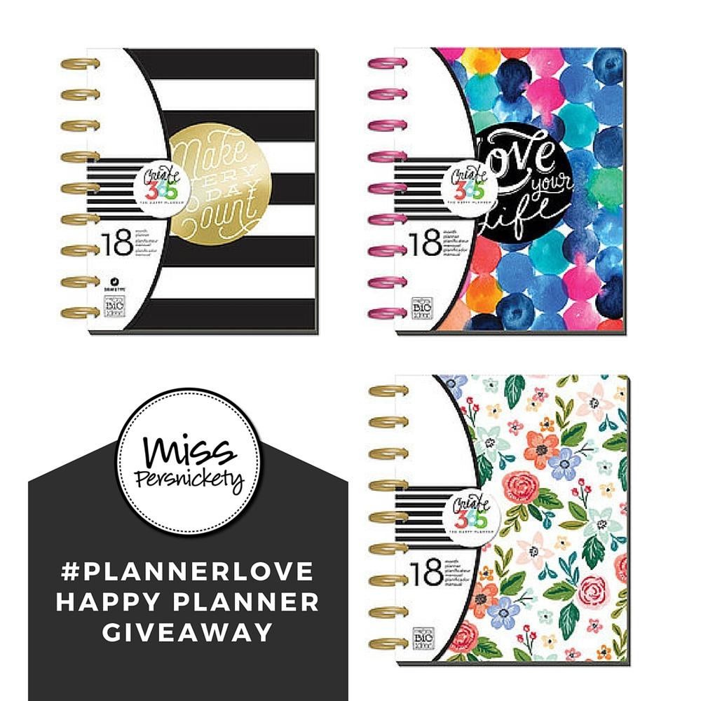 happy planner giveaway