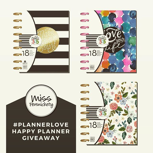 #giveaway in the blog - click #linkinbio to enter! Win your choice of #happyplanner from @meandmybigideas @the_happy_planner #planner #planneraddict #plannergal