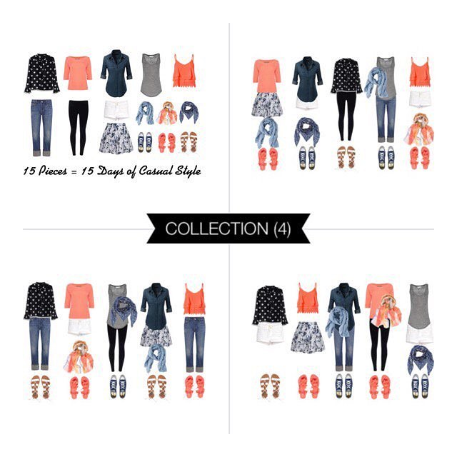 15 pieces = 15 casual summer styles - link to NEW post in profile #polyvore #polyvoreoutfits #fashion #fashionista #fashionblogger #summerstyle