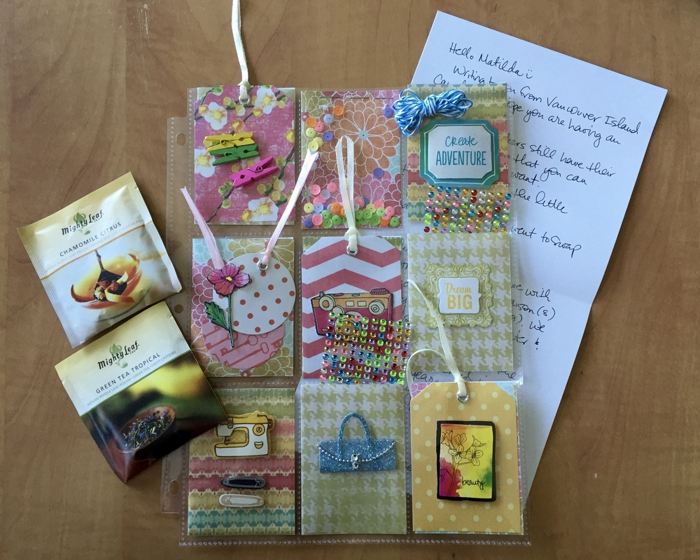 My first Pocket Letter - heading to New Zealand :)