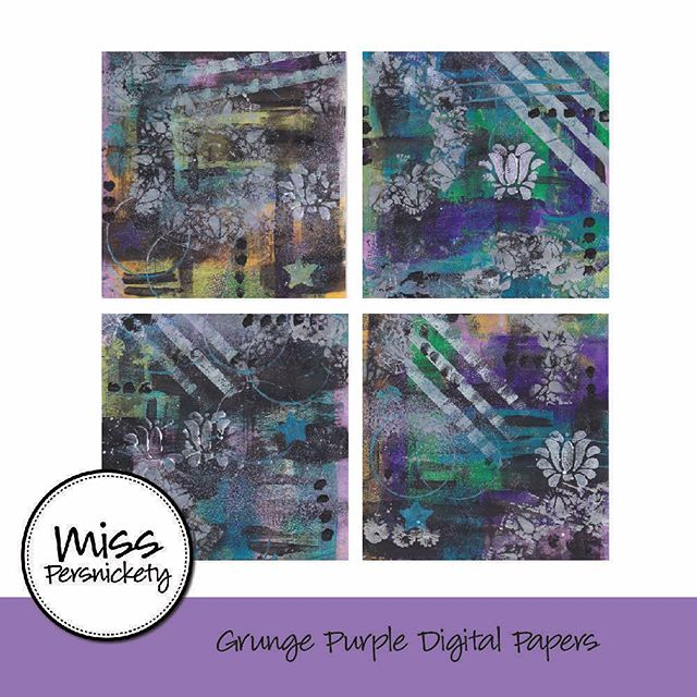 Opened an digital art journal / scrapbooking etsy supply shop this weekend. Find it by searching MissPersnicketyShop on Etsy. Would love some feedback :) #etsy #scrapbooking #artjournal