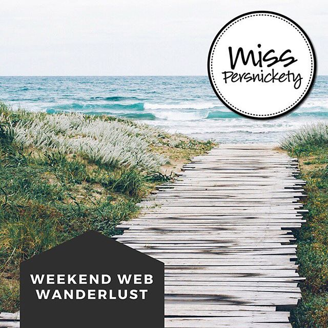 New blog post - follow link in profile. Weekend Web Wanderlust - links I am loving! #recipes #DIY and more :) #newpost #blogger #girlboss #repost